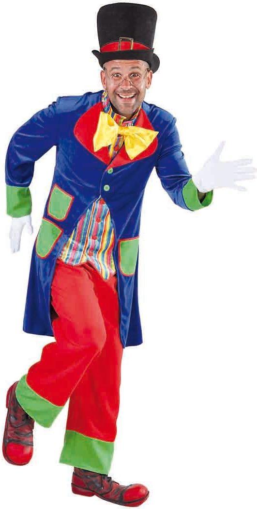 Clown kostuum mannen