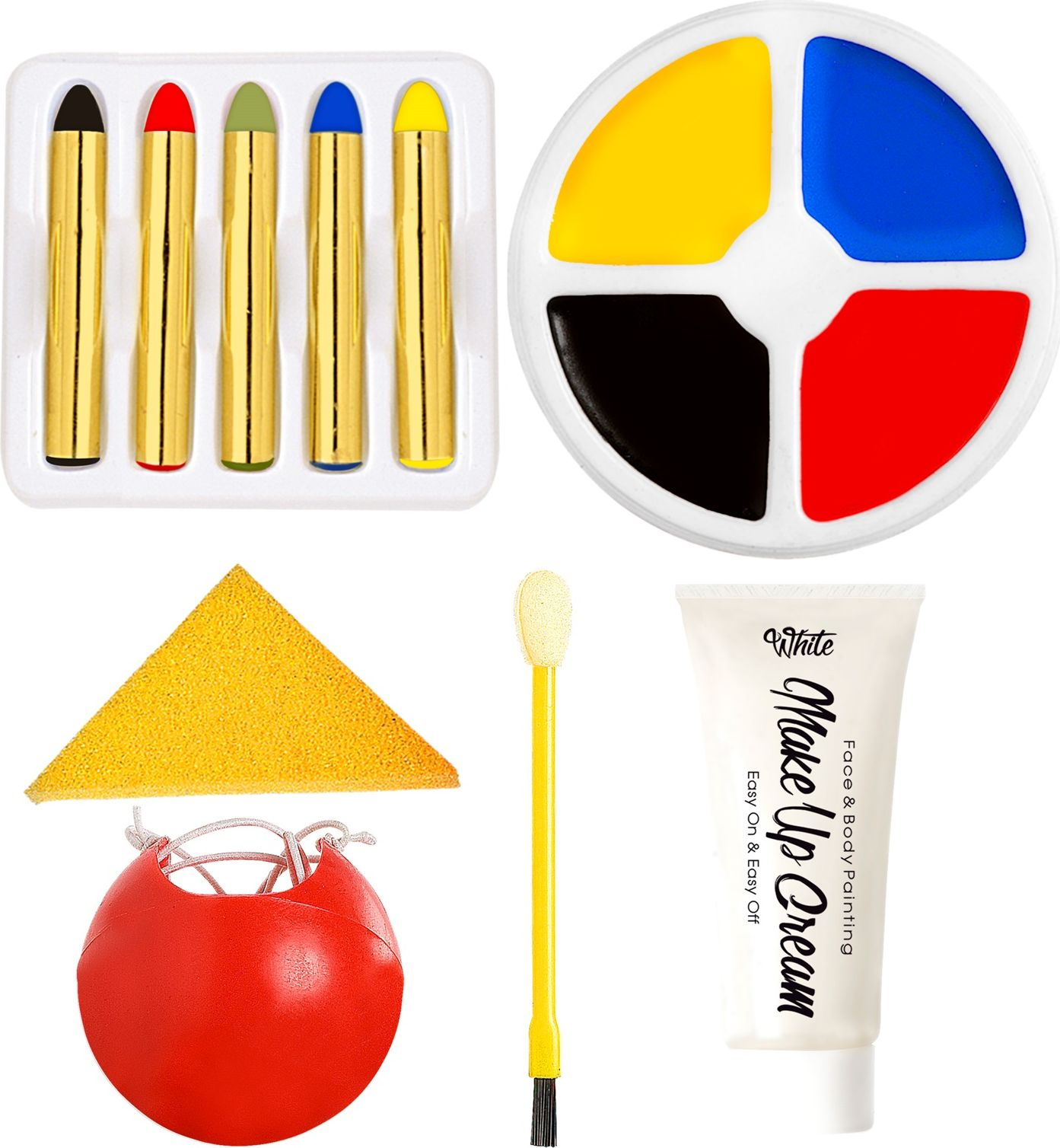 Clown opmaak kit