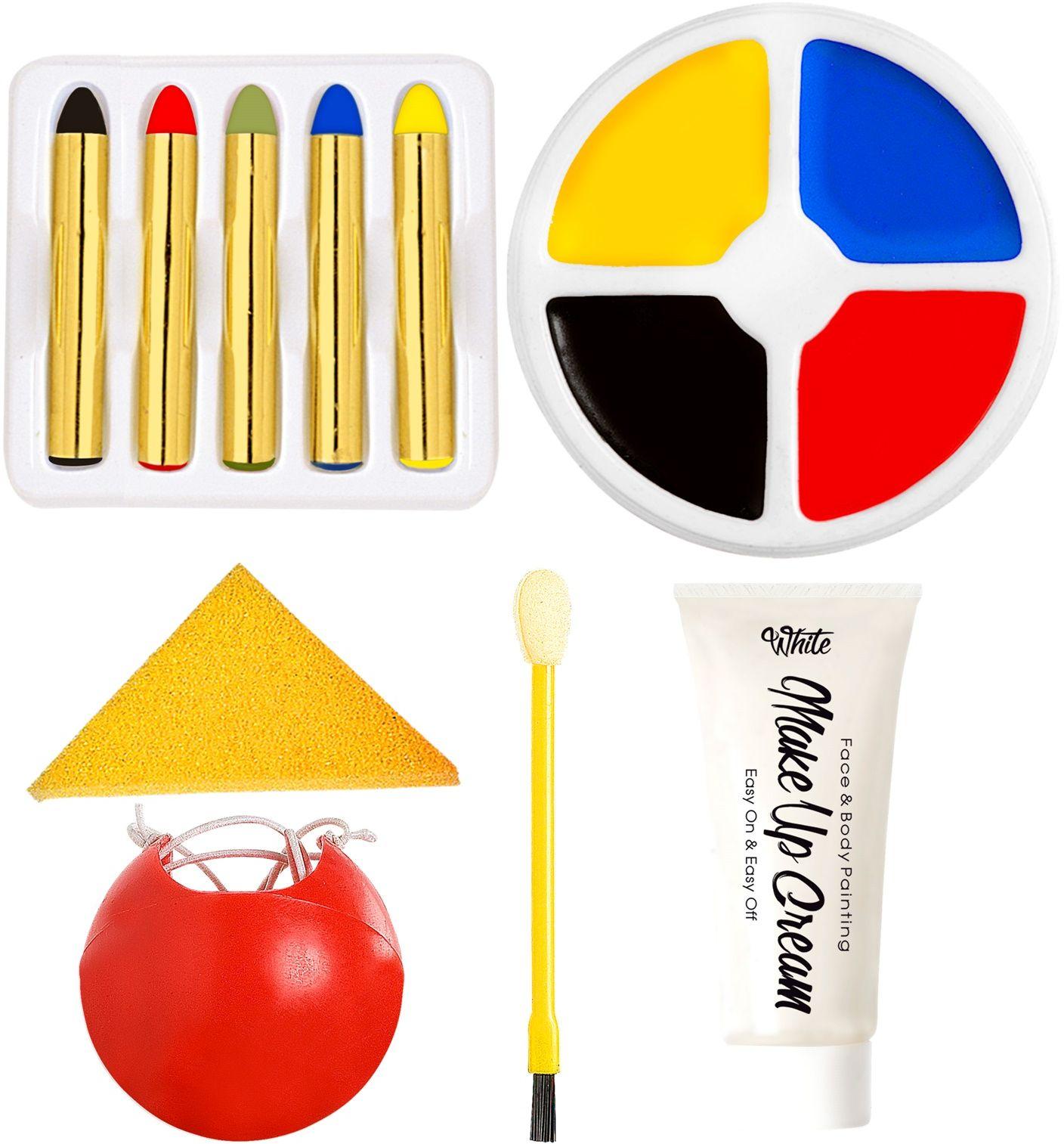 Clown opmaak kit