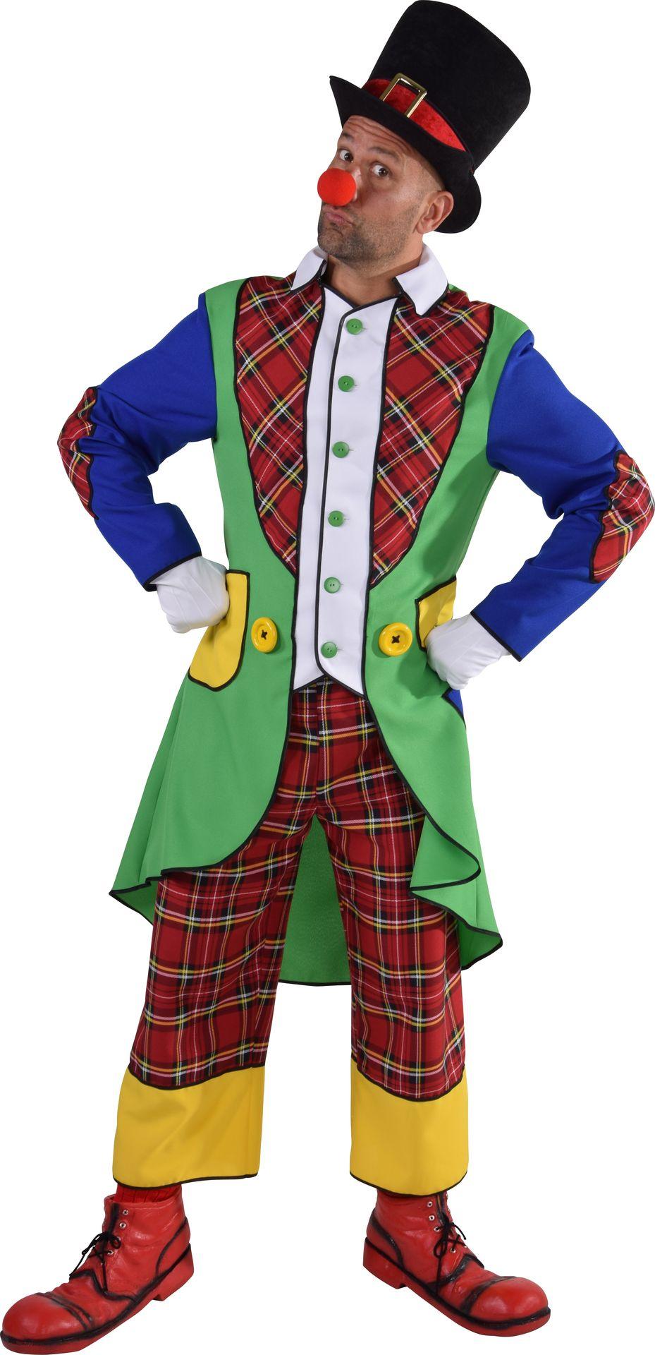 Clown pipo kostuum mannen