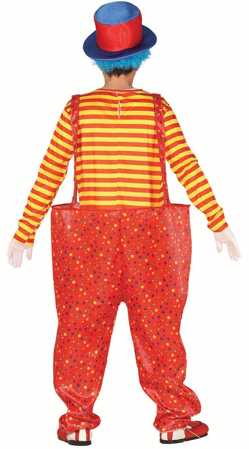 Clowns kostuum wijde broek man