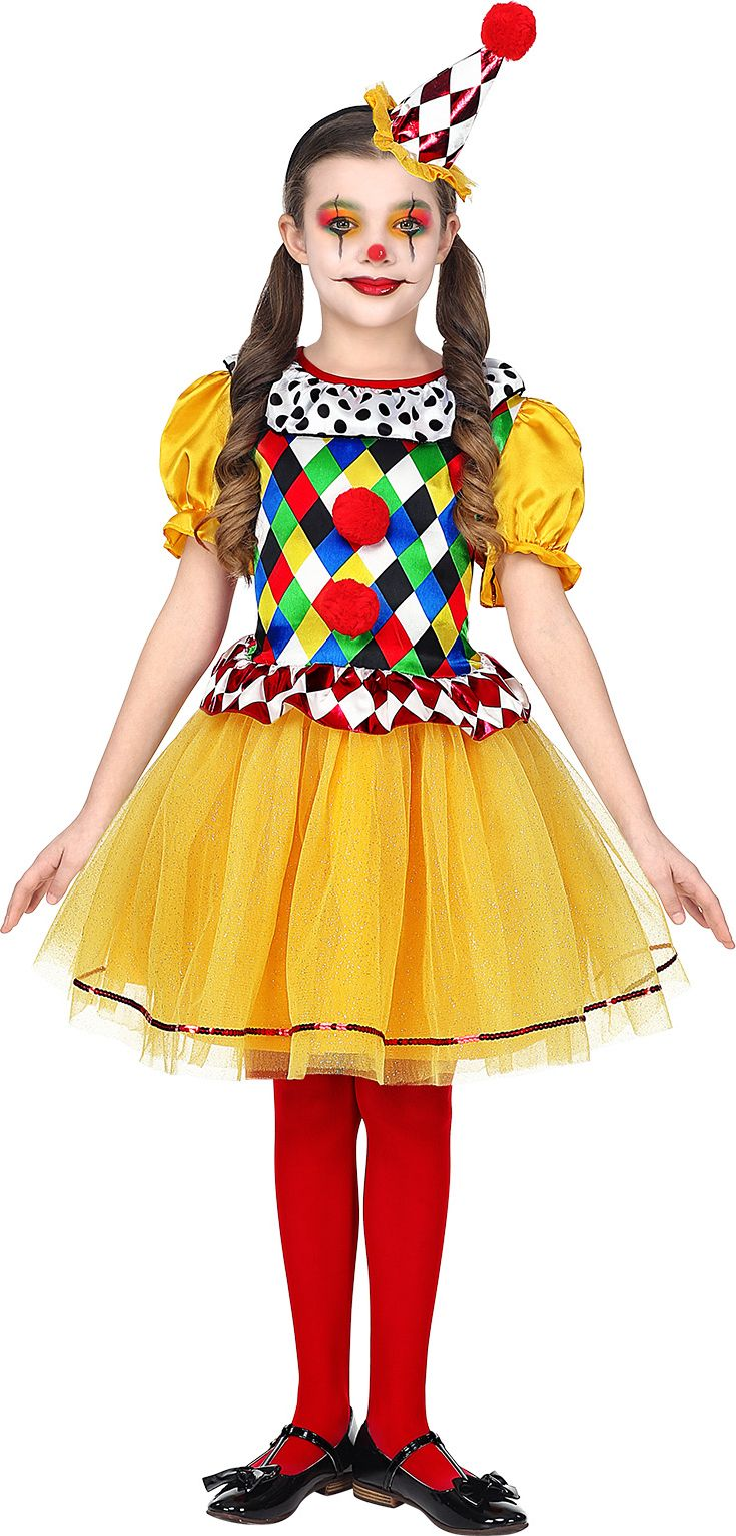 Clowns tutu jurkje meisje