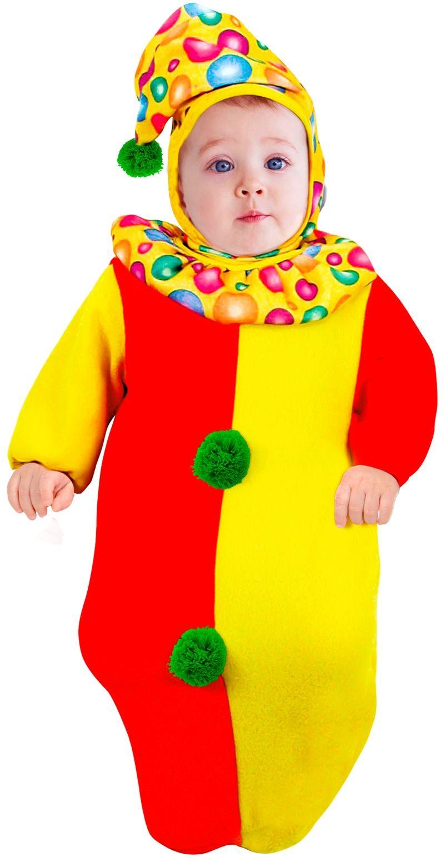 Verbazingwekkend Clownspak baby | Carnavalskleding.nl PG-52