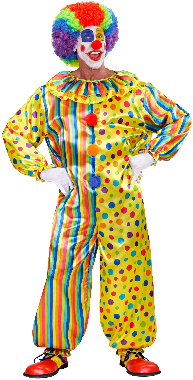 Clownspak strepen en stippen