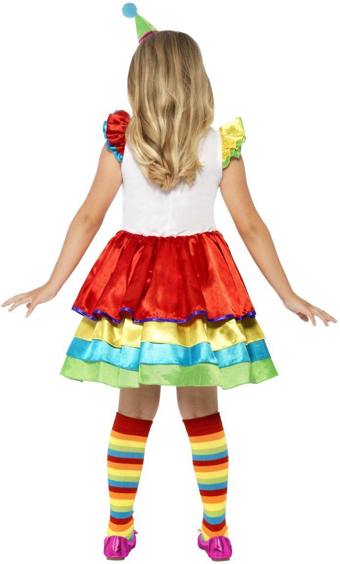 Clownspakje meisje