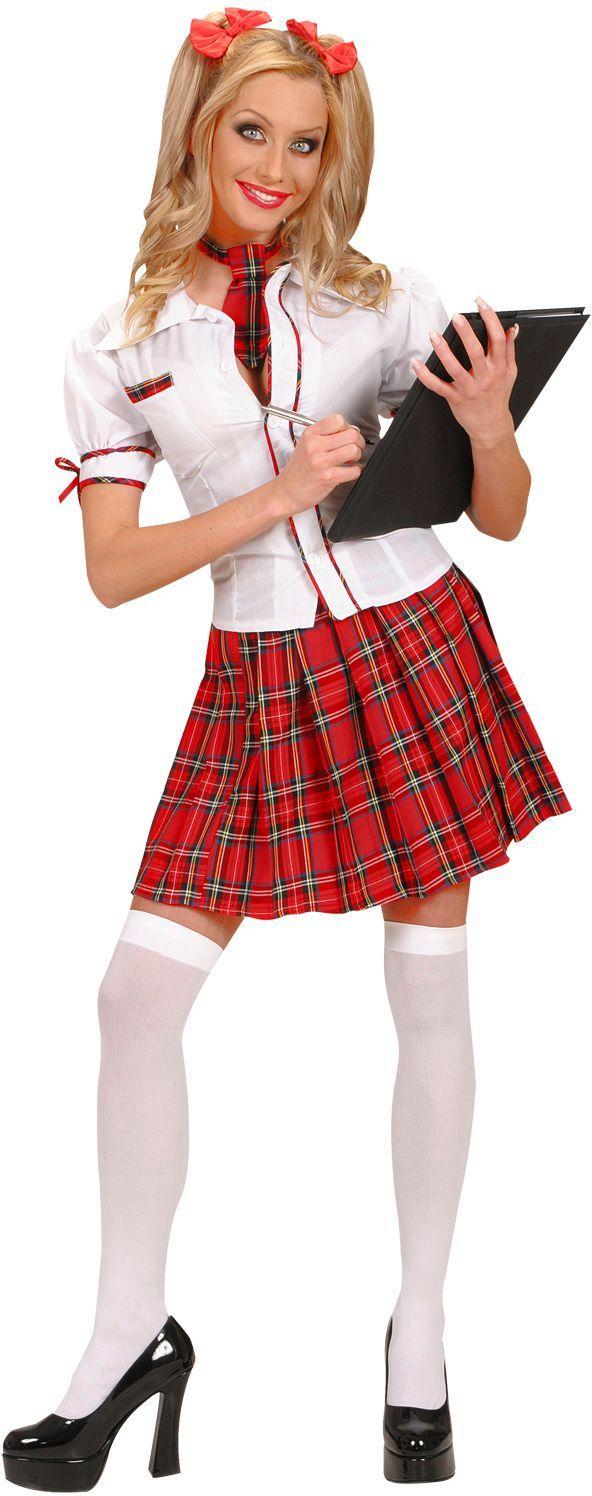 College meisje kostuum
