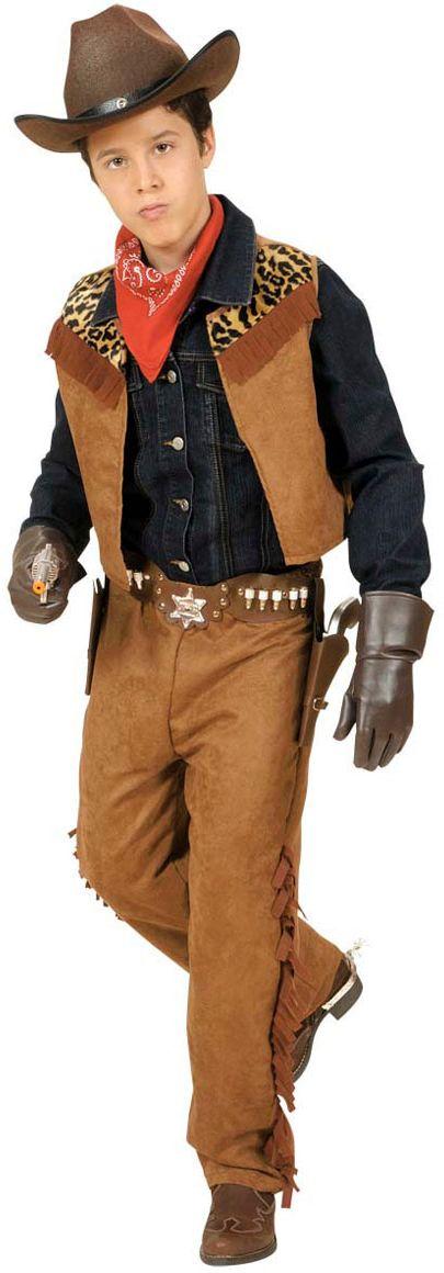 Cowboy Jongen kostuum