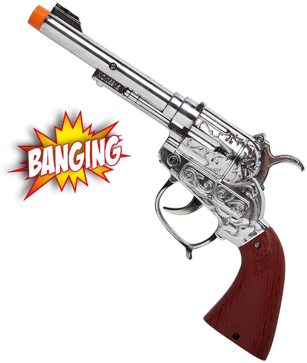 Cowboy pistool met geluid en licht