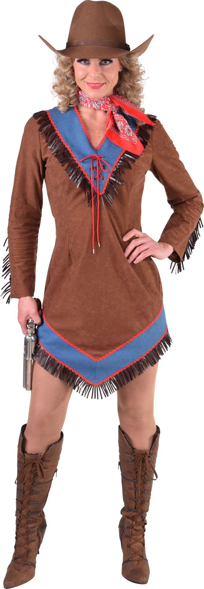 Cowgirl jurk dames
