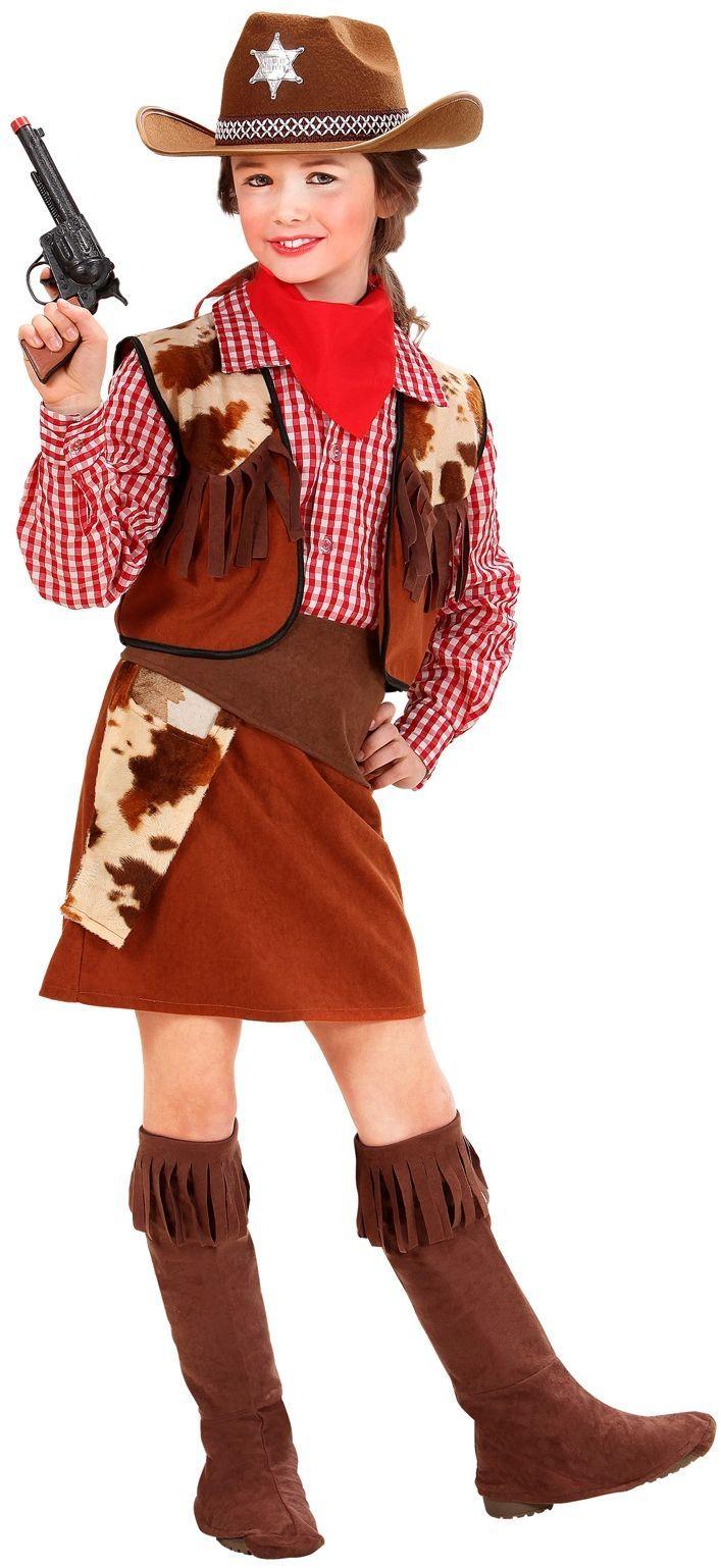 Cowgirl Kind Kostuum