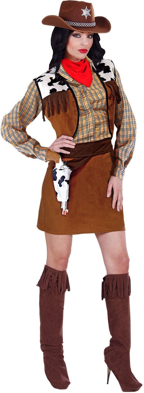 Cowgirl wild west kostuum