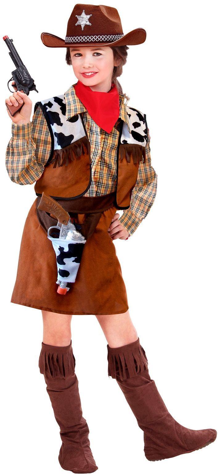 Cowgirl wilde westen kostuum