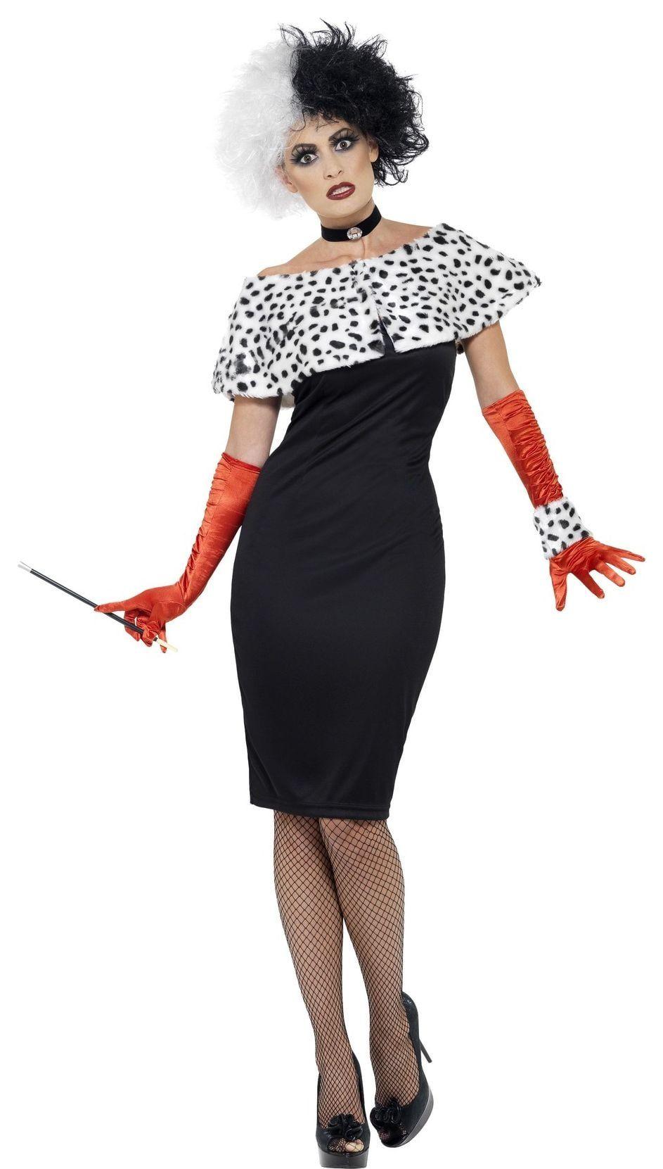 Cruella de Vil jurk dames