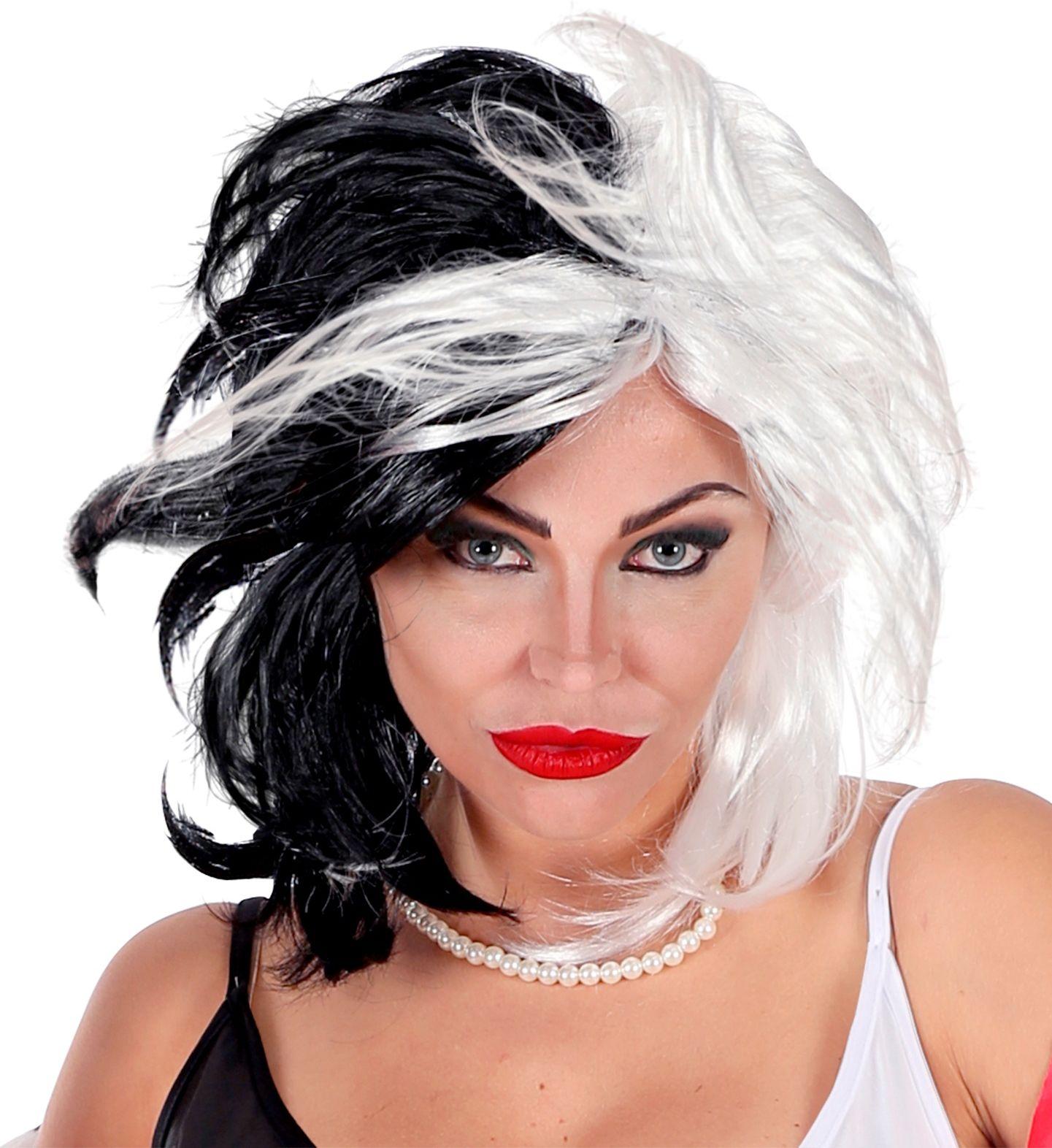 Cruella DeVil pruik