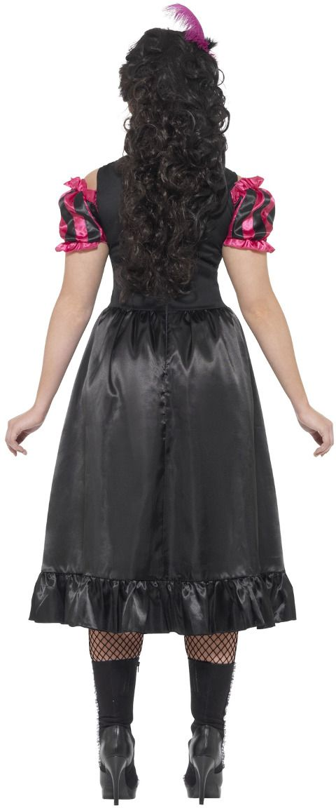 Curvy saloon jurk