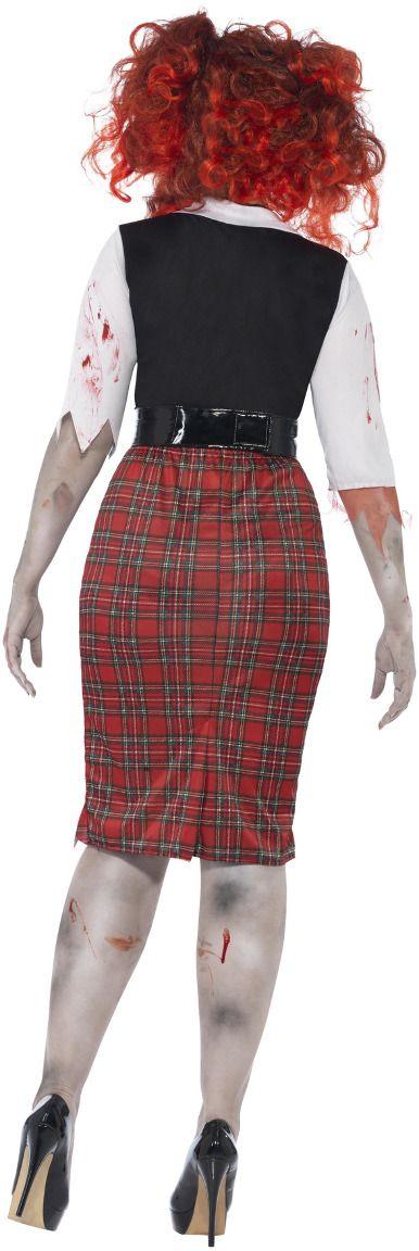 Curvy zombie student pakje