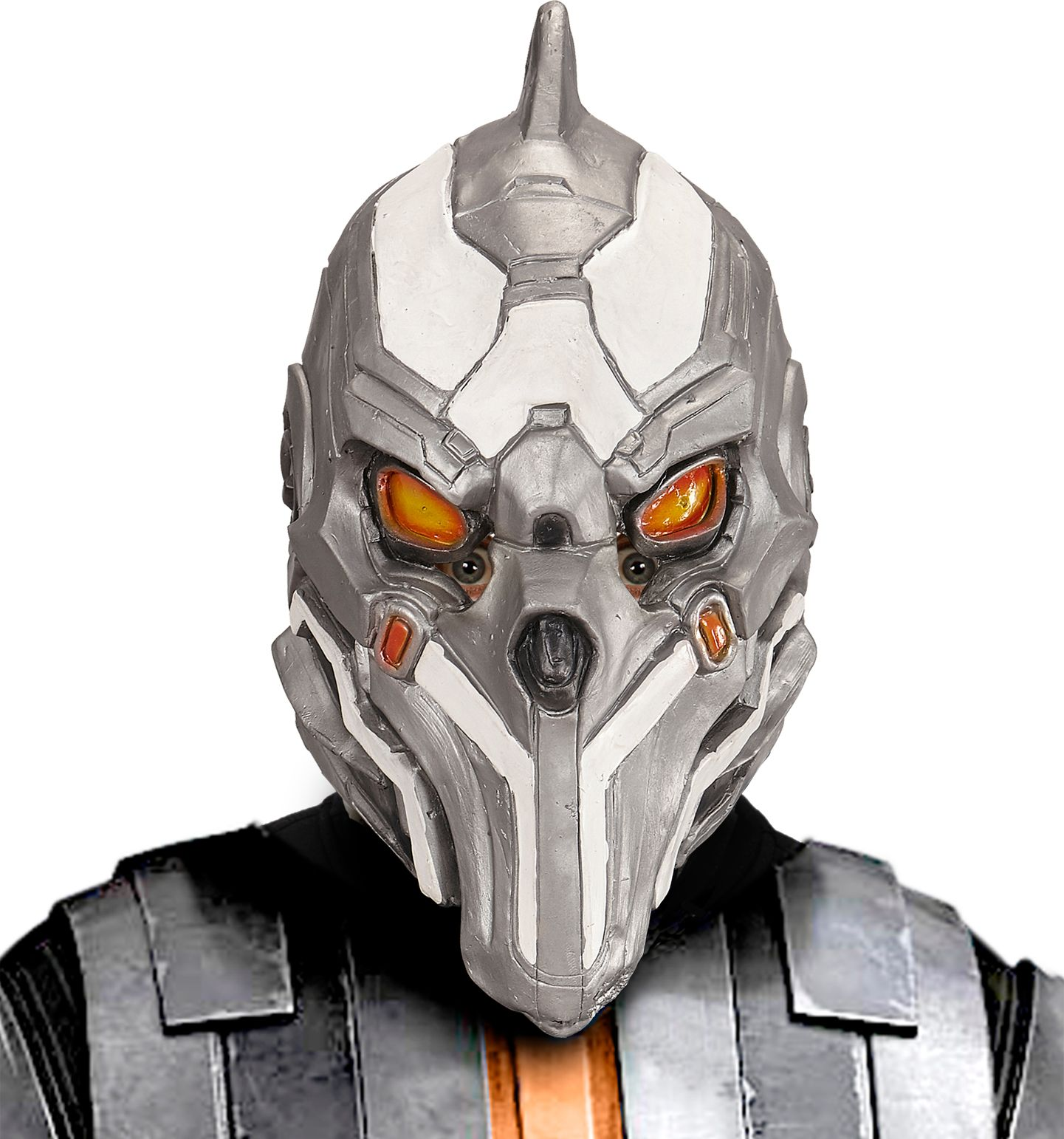 Cyborg alien masker