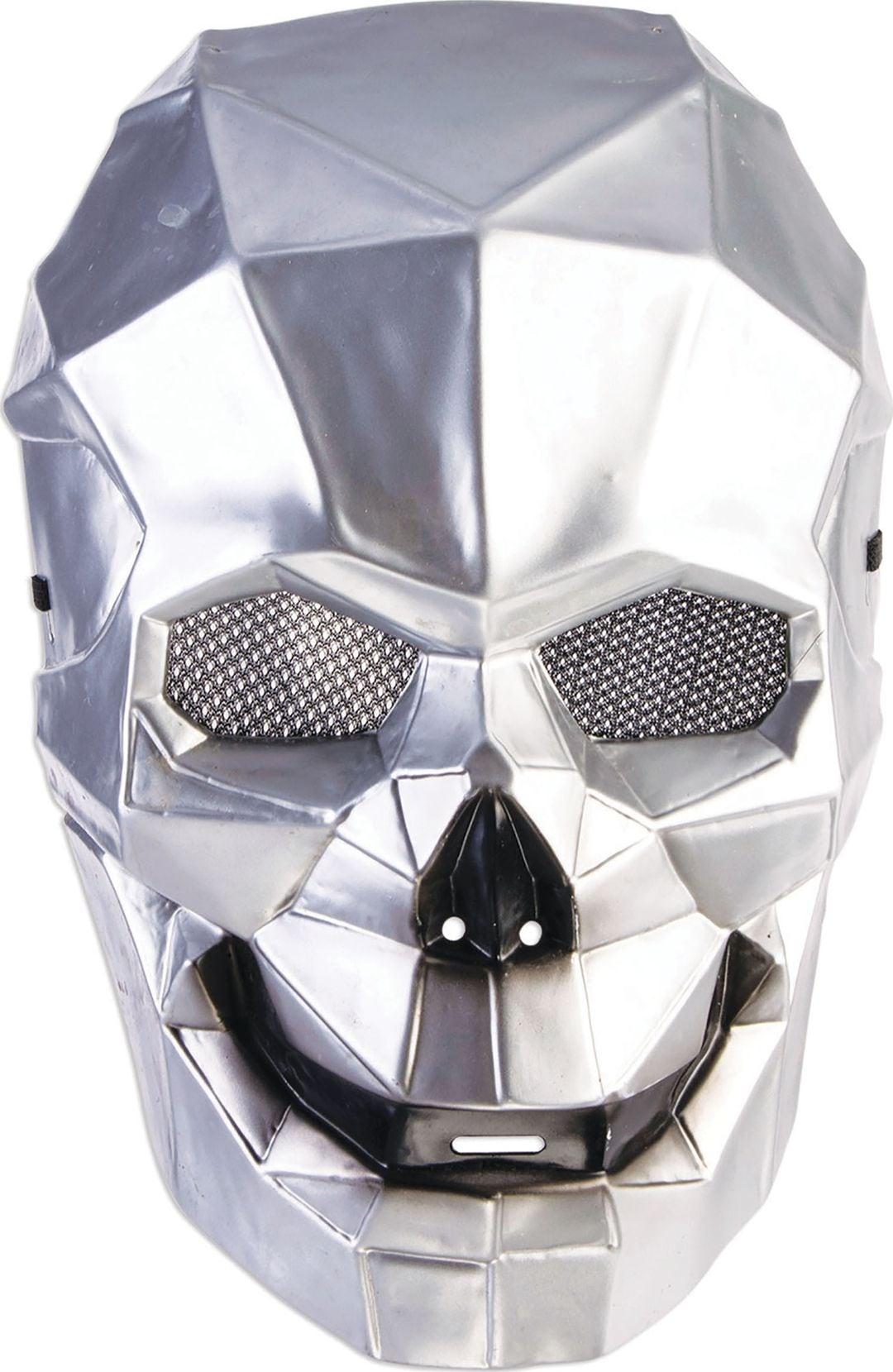 Cyborg schedel masker