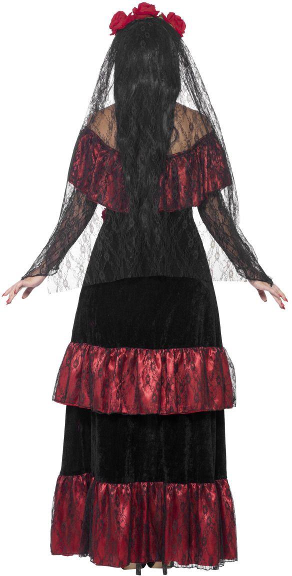 Dag van de doden bruid jurk