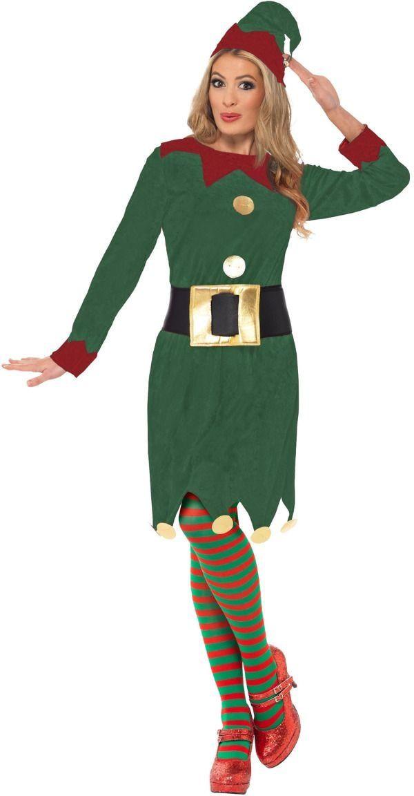 Dames elfje jurk