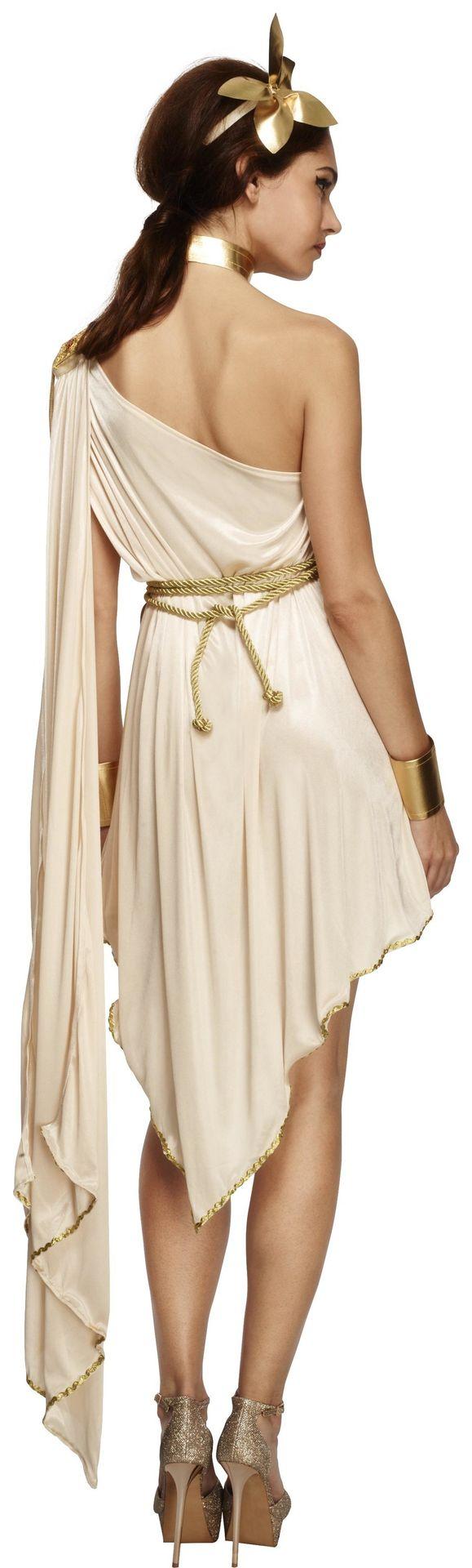 Dames jurk Griekse godin