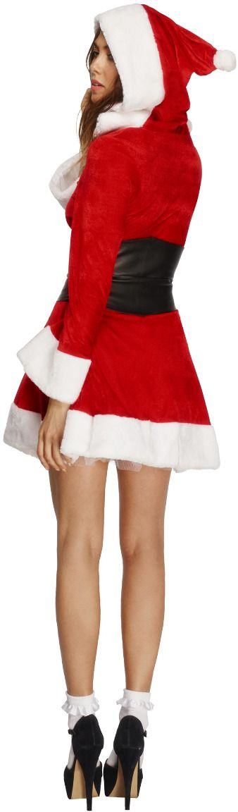 Dames kerstmannen jurkje