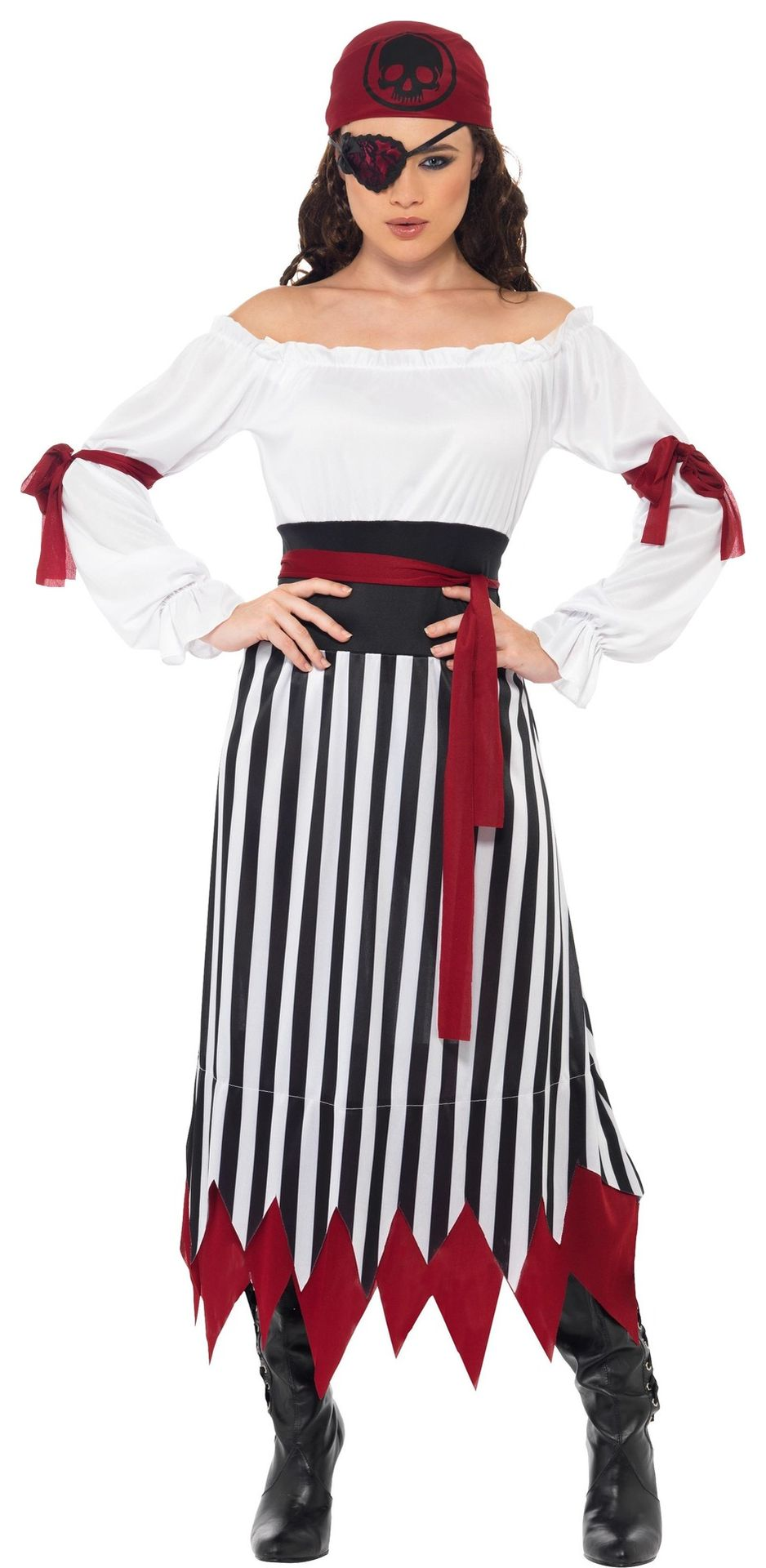Dames outfit piraat