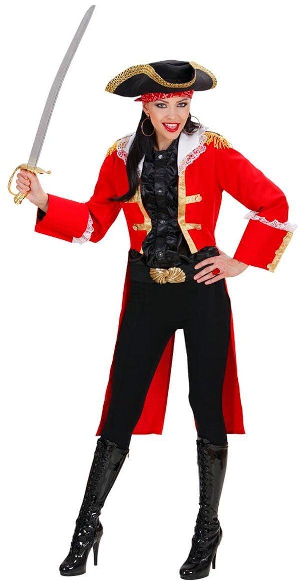 Dames piratenkapitein kostuum