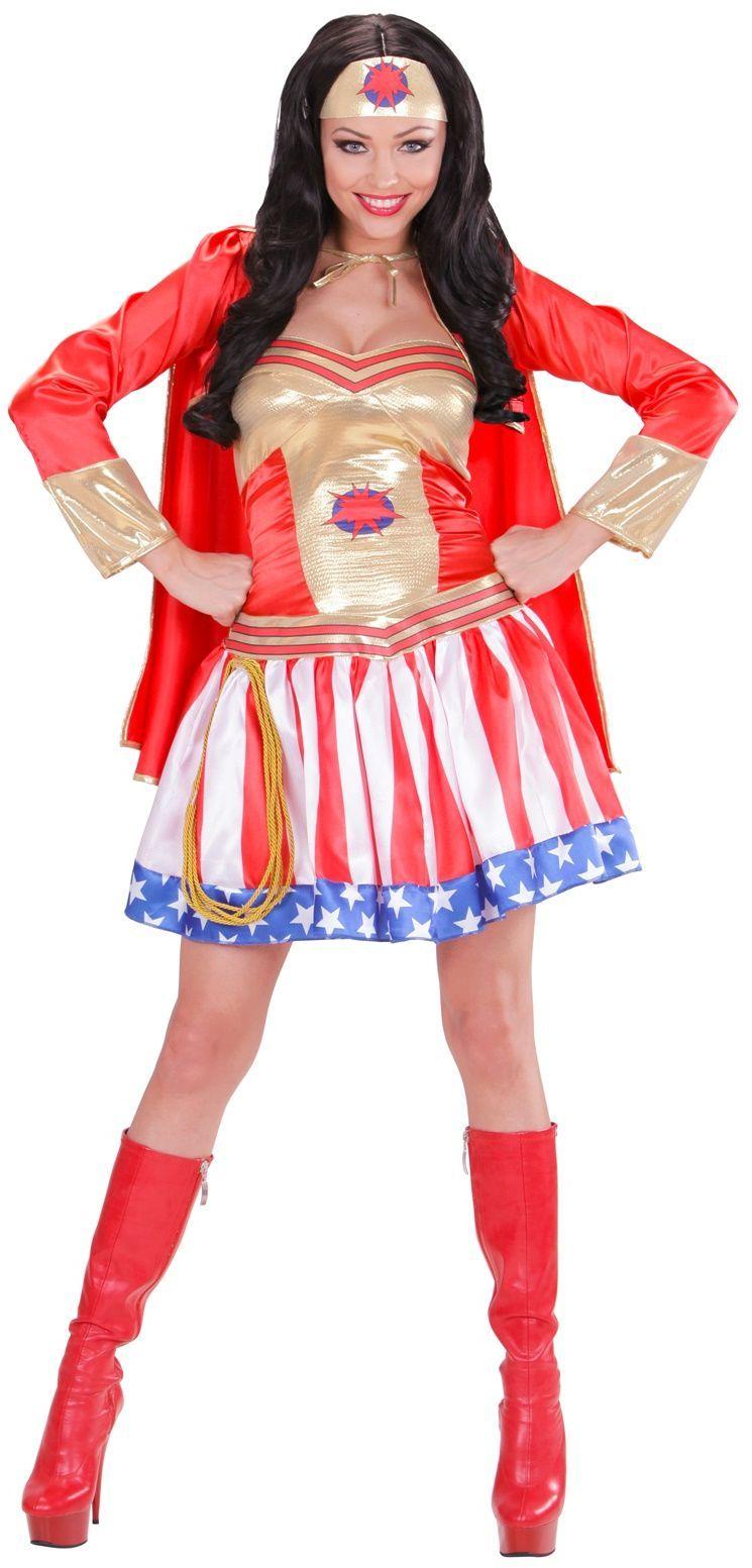 Dames Superhelden kostuum
