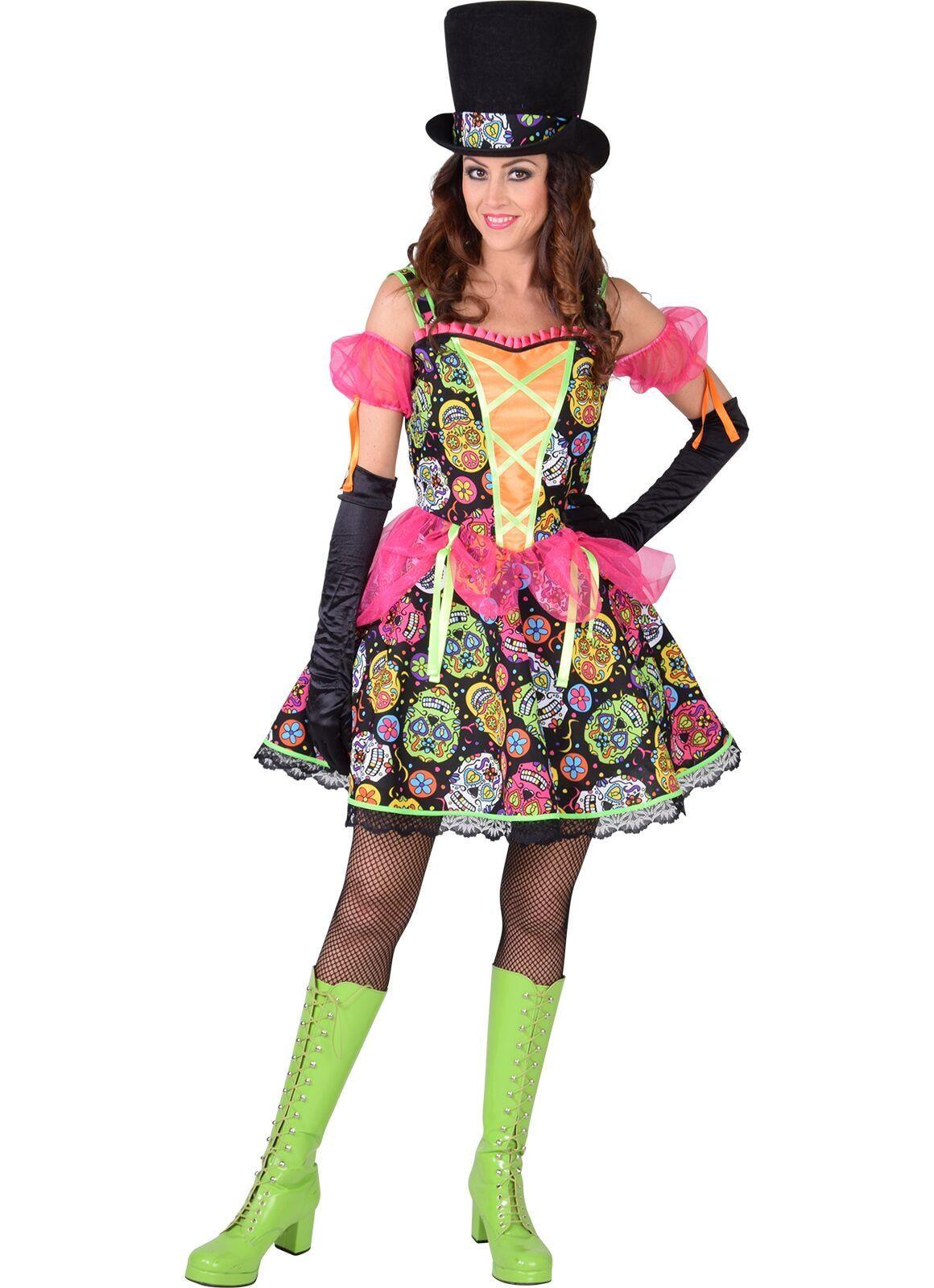 Dia de los Muertos jurk dames