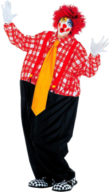 Dikke clown kostuum