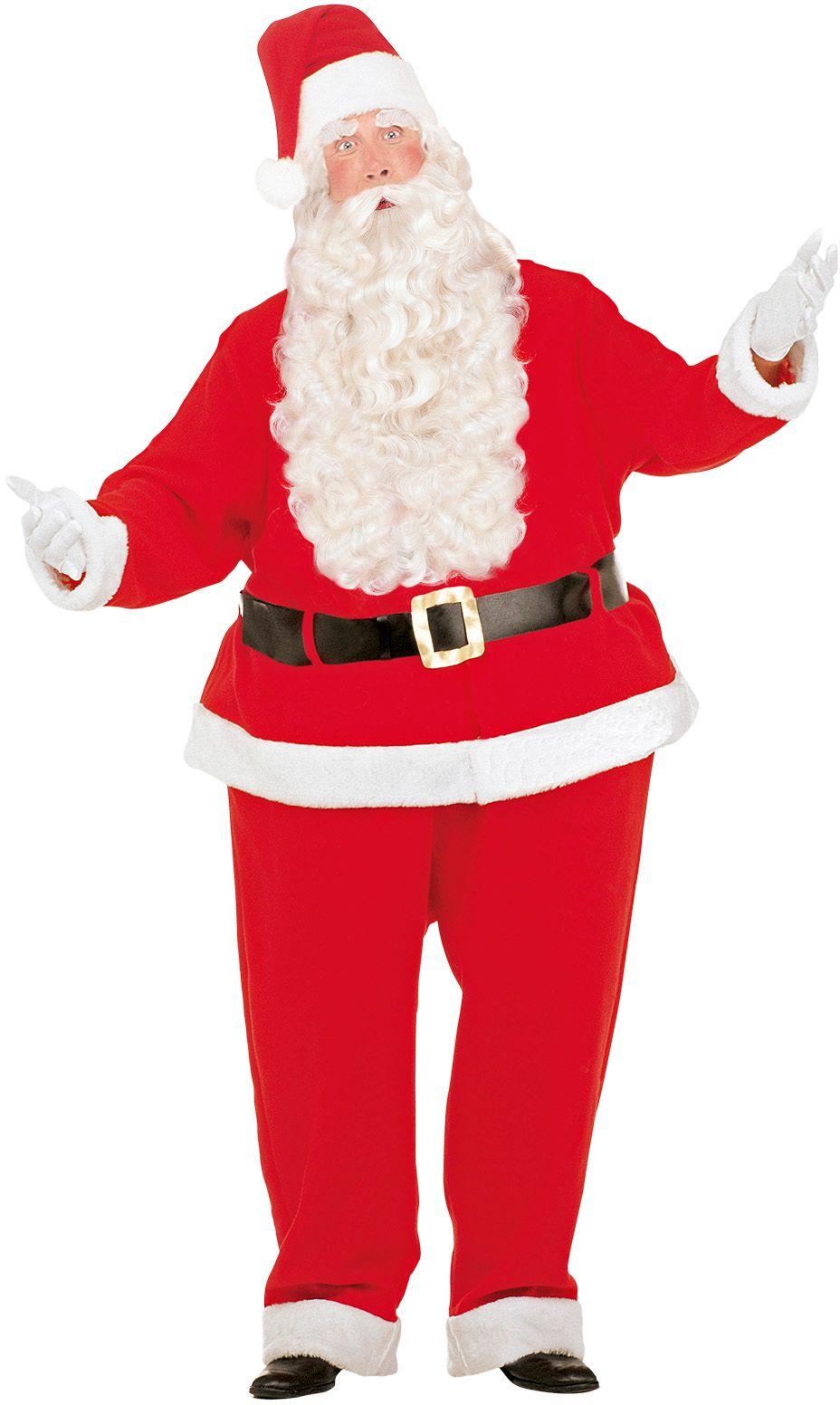 Dikke kerstman kostuum