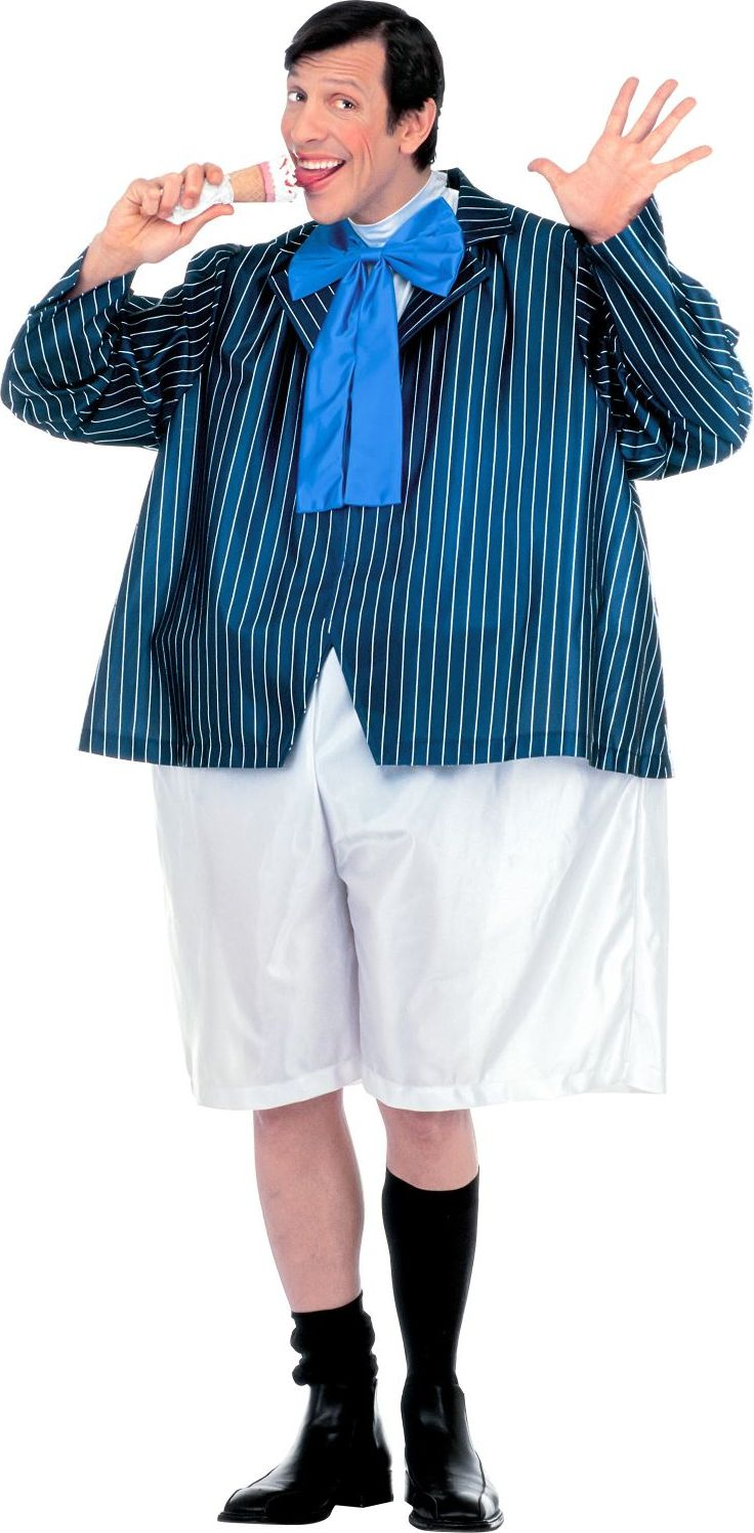 Dikke scholier kostuum