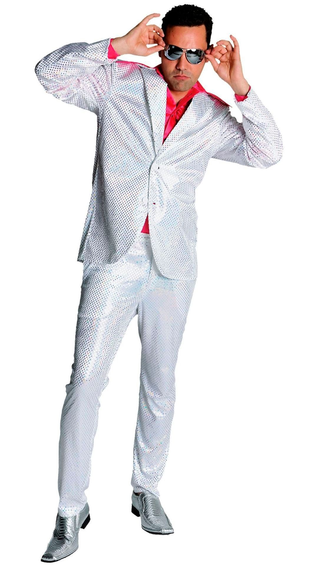 Disco glitter outfit mannen