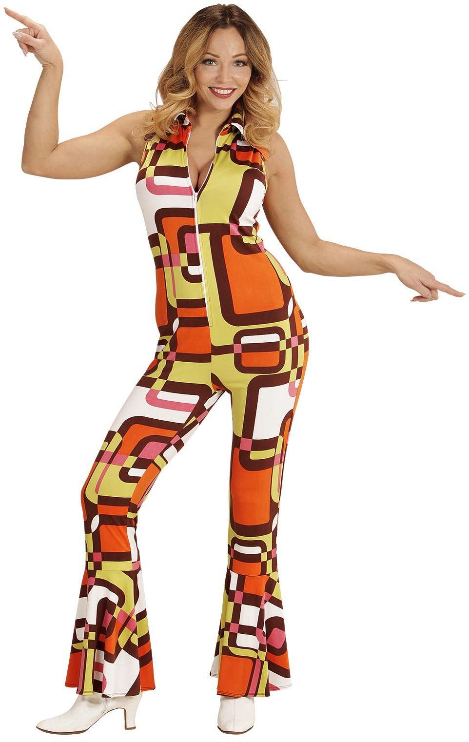 Disco jaren 70 jumpsuit