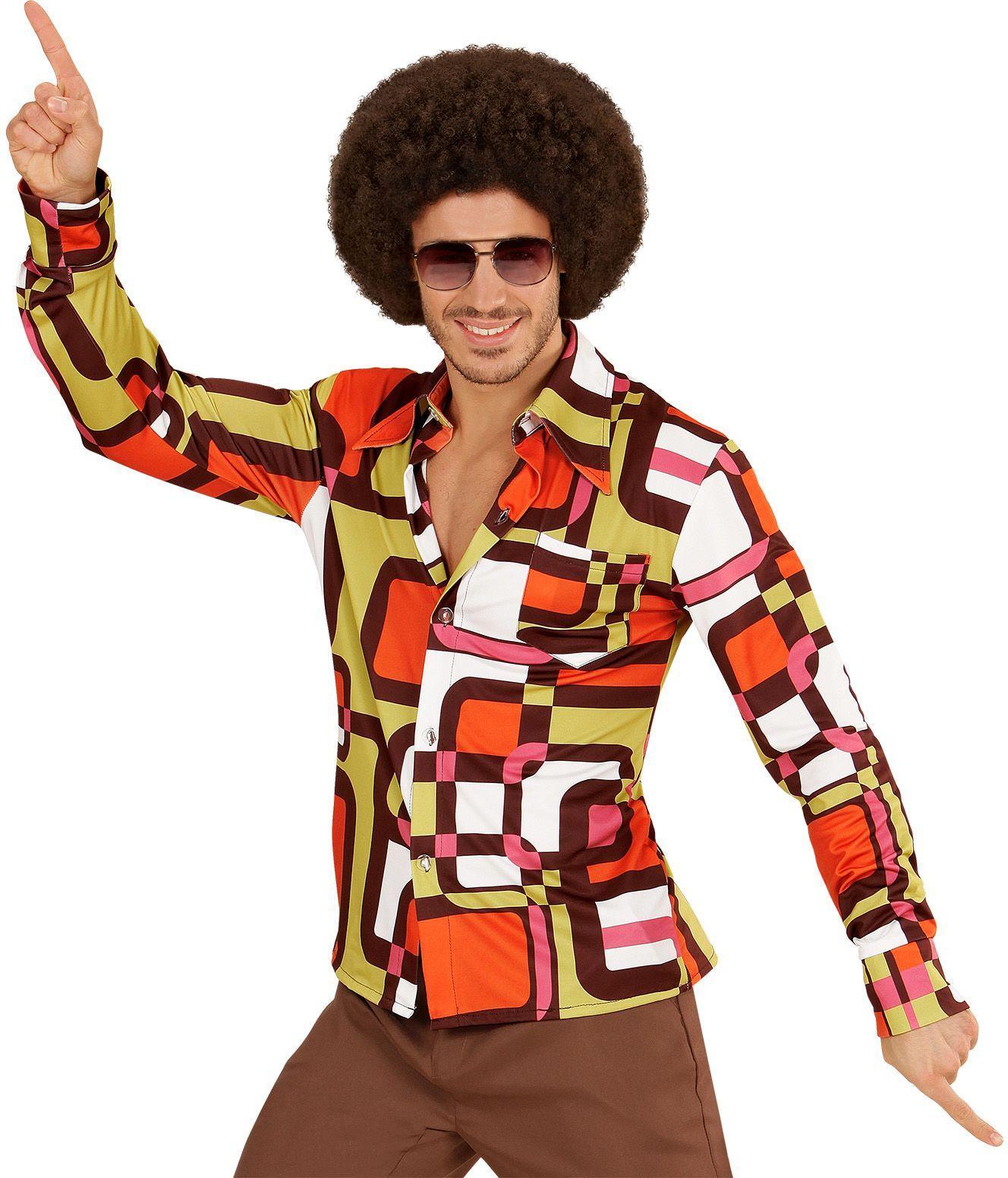 Disco jaren 70 shirt