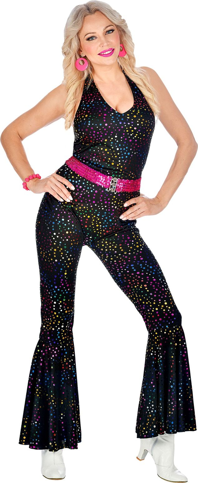 Disco jumpsuit multicolor
