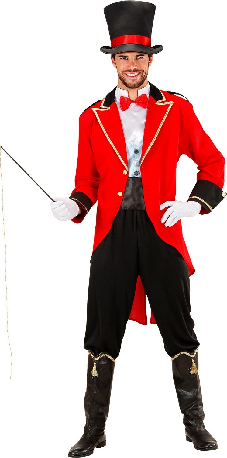 Dompteur Circus kostuum man