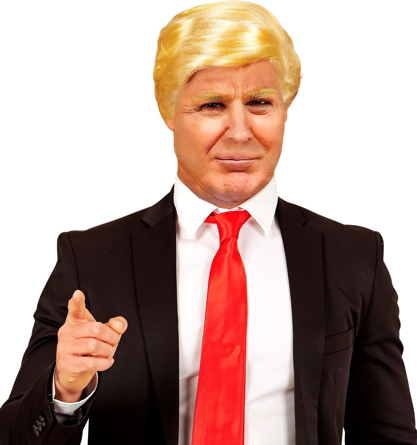Donald Trump pruik