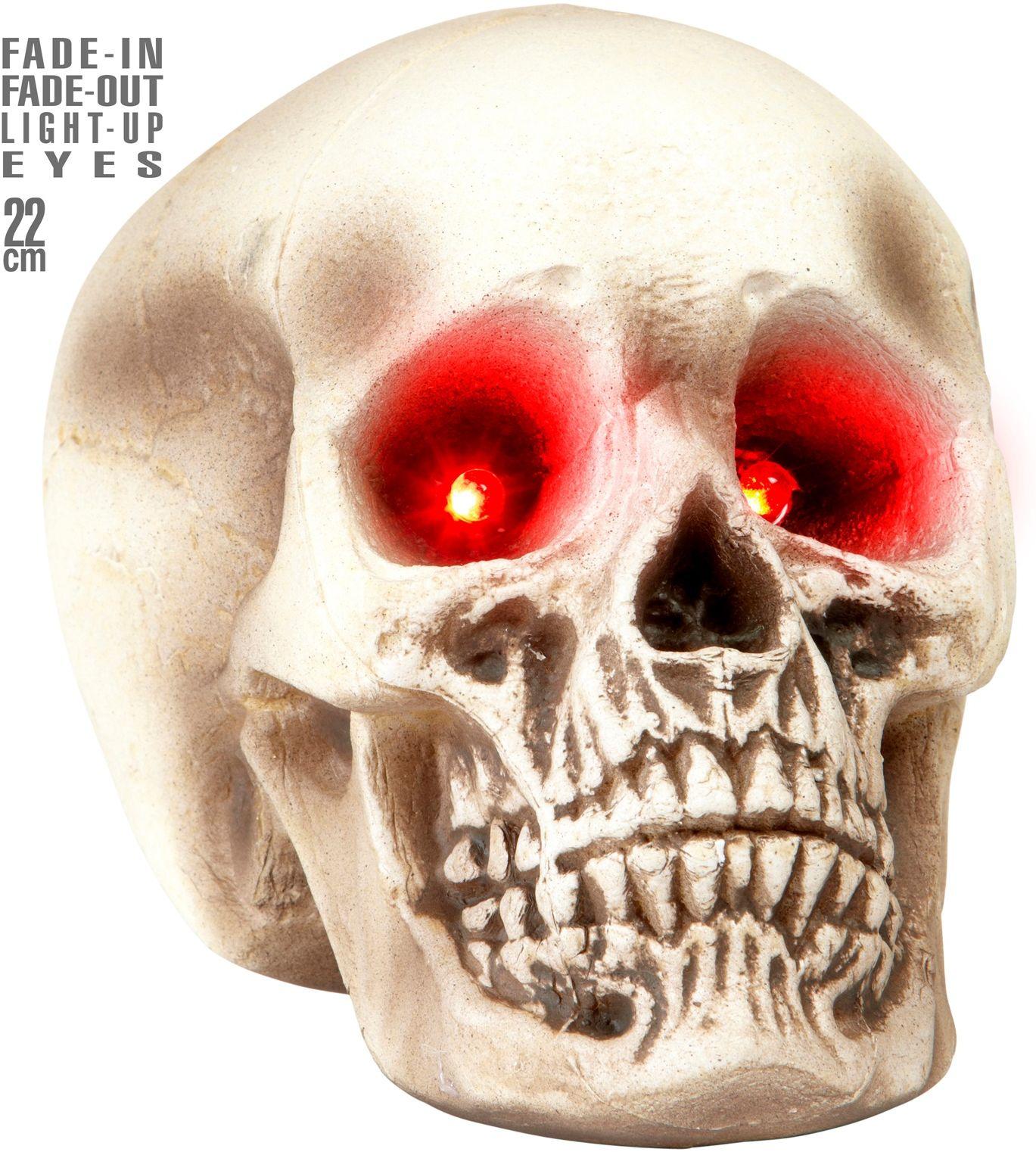 Doodskop met oogverlichting