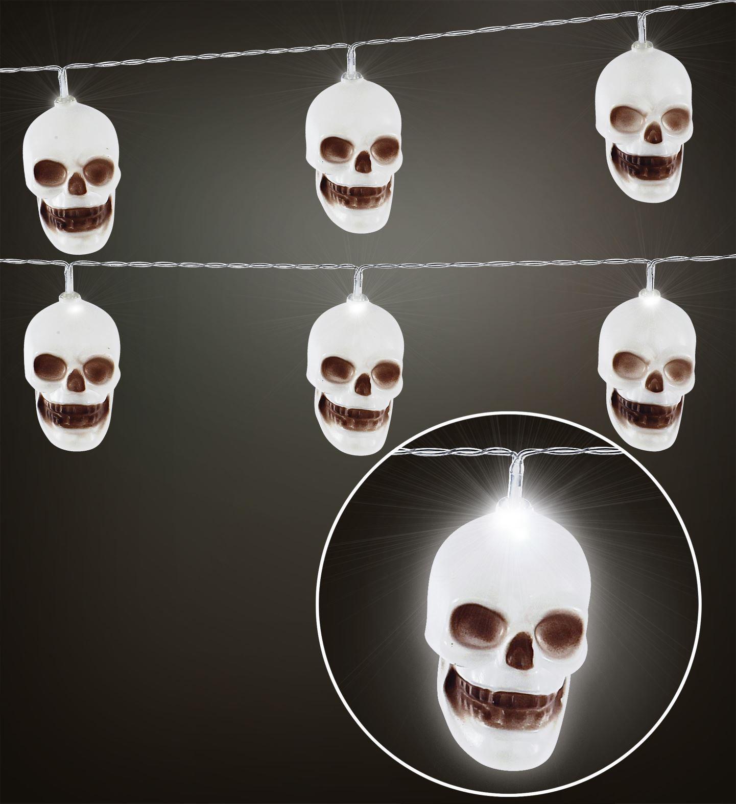 Doodskop verlichting halloween