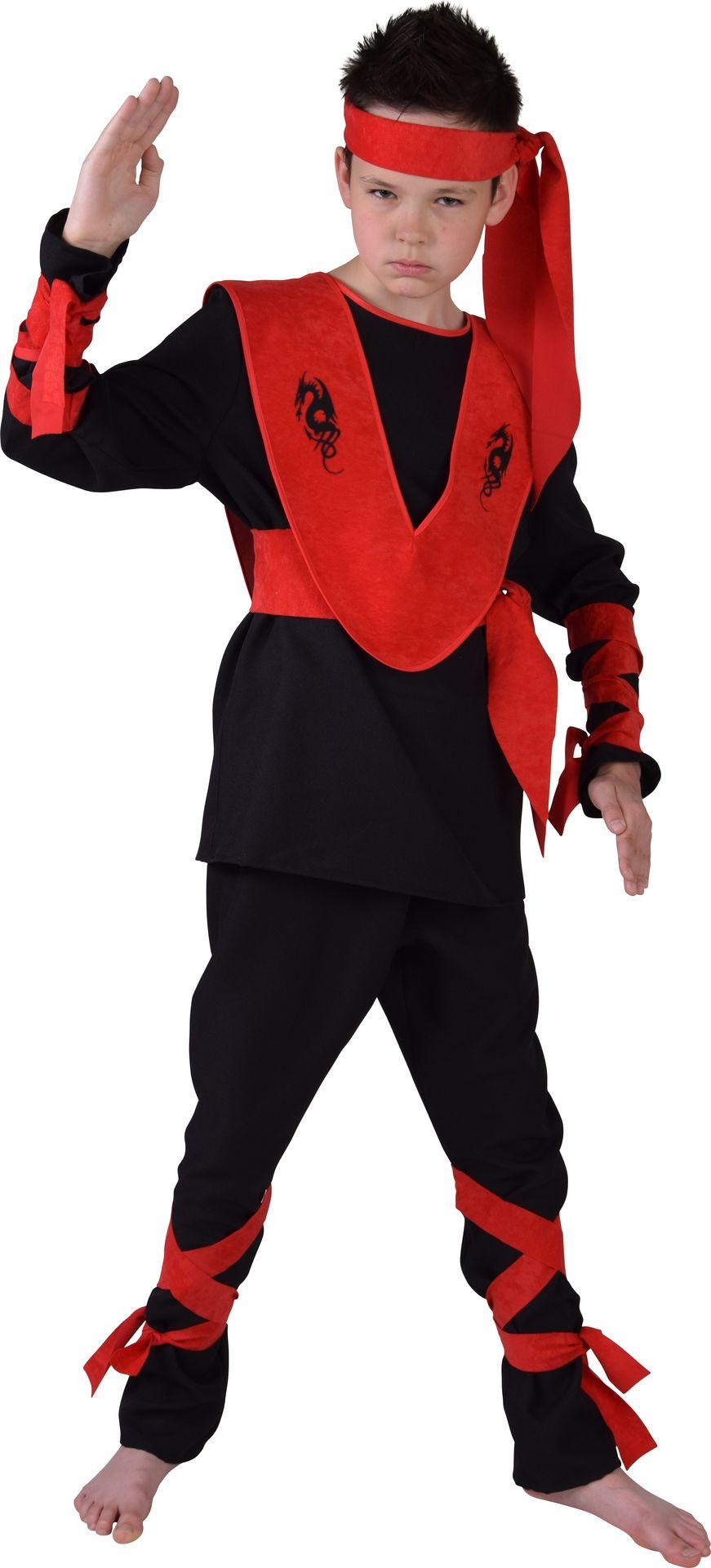Draken ninja kostuum kind
