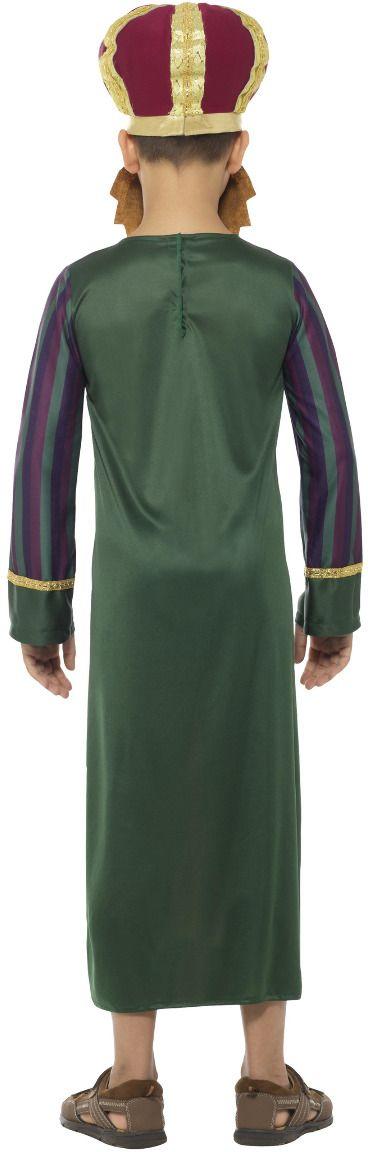 Drie koningen Balthasar outfit