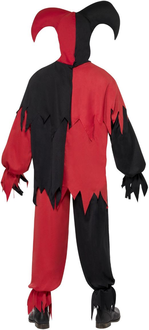 Duistere horror nar outfit