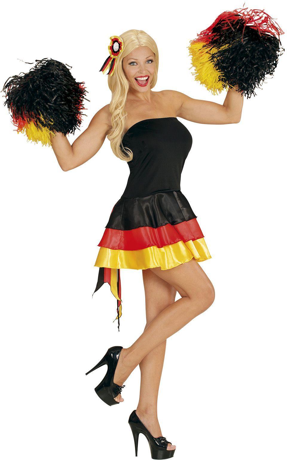 Duits jurk met haarstukje