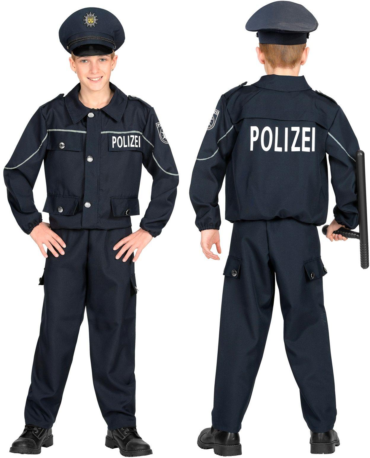 Duits Politie kostuum kind