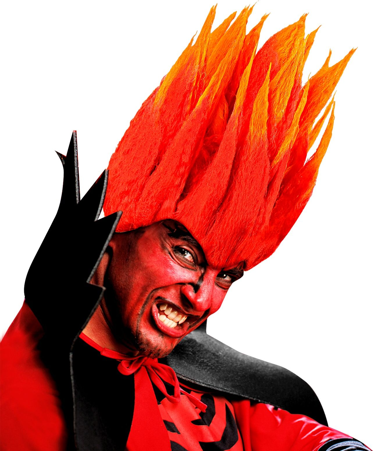 Duivel diablo pruik