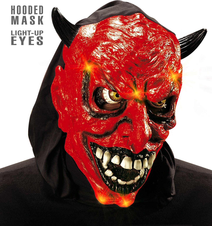 Duivel masker met licht