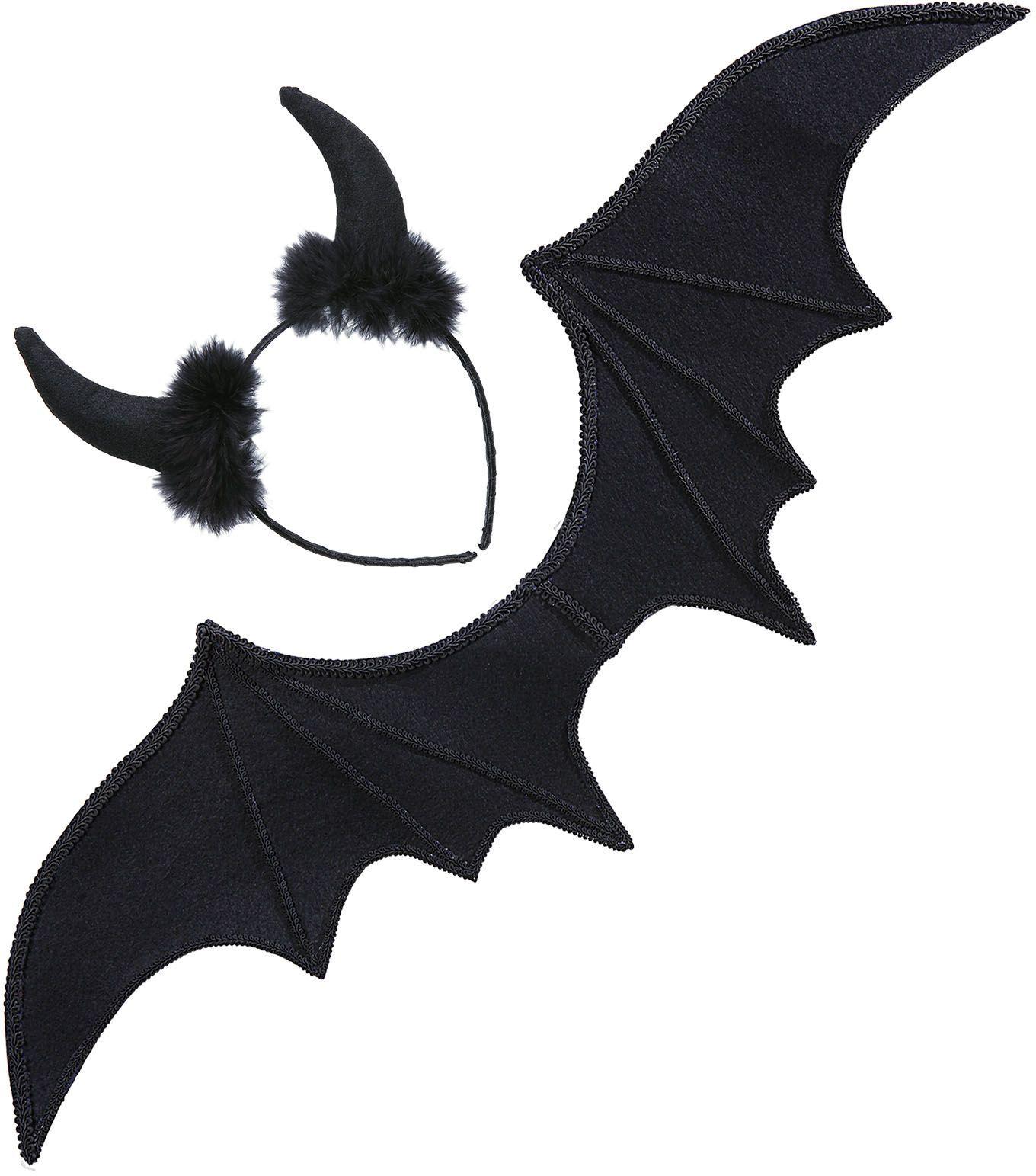 Duivel vleugels met oren