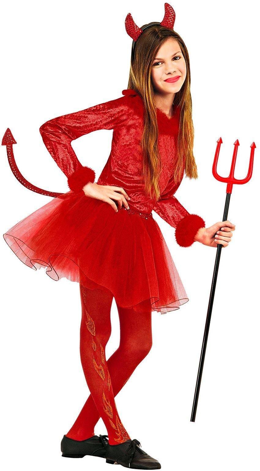 Duivels Meisje rood